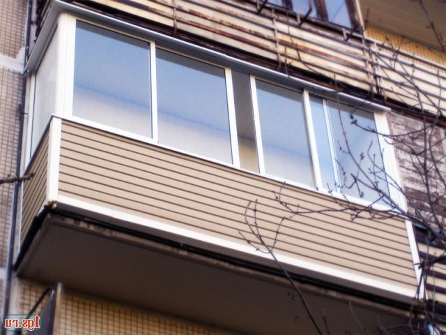 Профессиональны подход, внешняя отделка балконов сайдингом в.